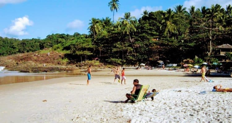 On of the beautiful beaches of Itacare